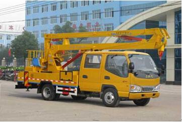 程力威牌CLW5060JGKZ4型高空作业车