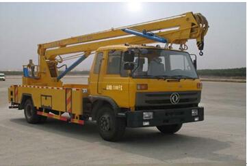 程力威牌CLW5110JGK4型高空作业车