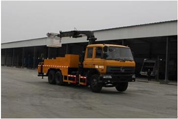 程力威牌CLW5160JGKD4型高空作业车