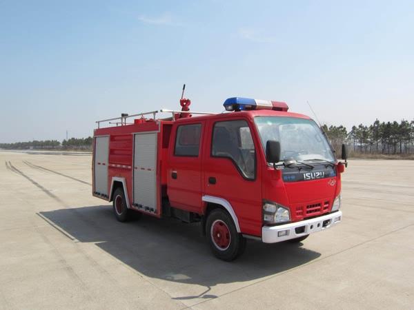 五十铃水罐消防车