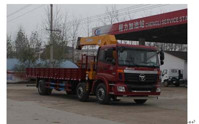 程力威牌CLW5252JSQB4型随车起重运输车