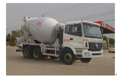 程力威牌CLW5250GJBB4型混凝土搅拌运输车