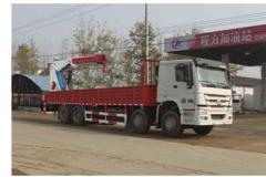 程力威牌CLW5310JSQZ4型随车起重运输车