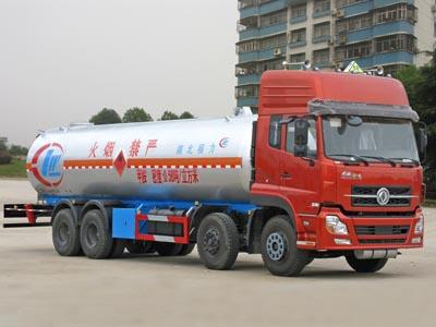 东风天龙前四后八14吨化工液体运输车