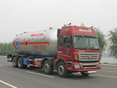程力威牌CLW5311GYQB型液化气体运输车