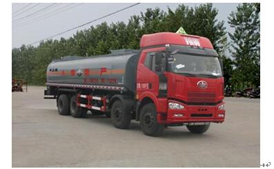 程力威牌CLW5310GFWC4型腐蚀性物品罐式运输车