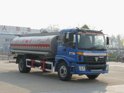 福田欧曼13吨化工液体运输车