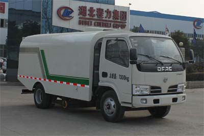 程力威牌CLW5070TXC4型吸尘车