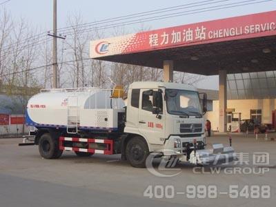 程力威牌CLW5163GQXD4型清洗车