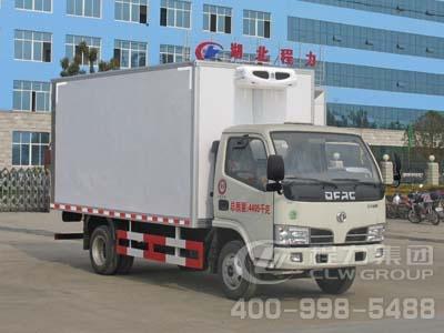 程力威牌CLW5030XLC4型冷藏车
