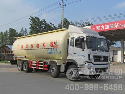 程力威牌CLW5310GFLD4型低密度粉粒物料运输车