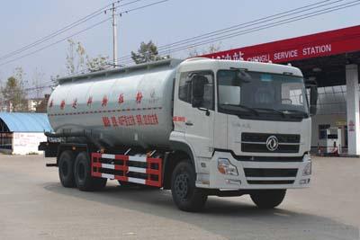 程力威牌CLW5251GFLD4型低密度粉粒物料运输车