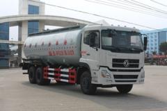 程力威牌CLW5250GFLD4型低密度粉粒物料运输车