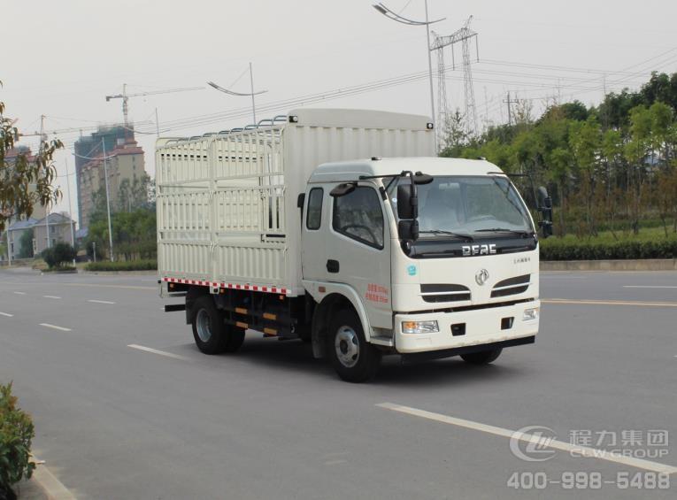 东风牌EQ5090CCYL8BDCAC型仓栅式运输车