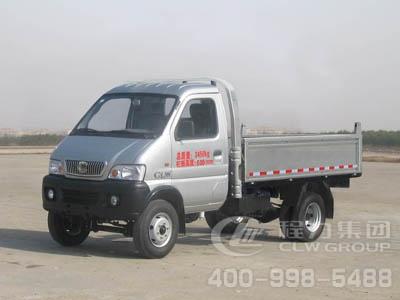 程力威牌CLW4015D型自卸低速货车