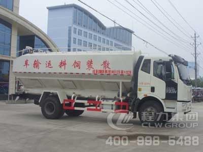 程力威牌CLW5160ZSLC4型散装饲料运输车