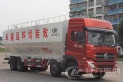 程力威牌CLW5311ZSLD4型散装饲料运输车