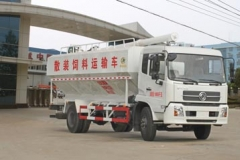 程力威牌CLW5161ZSLD4型散装饲料运输车